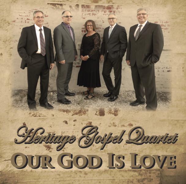 Our God Is Love CD by Heritage Gospel Quartet