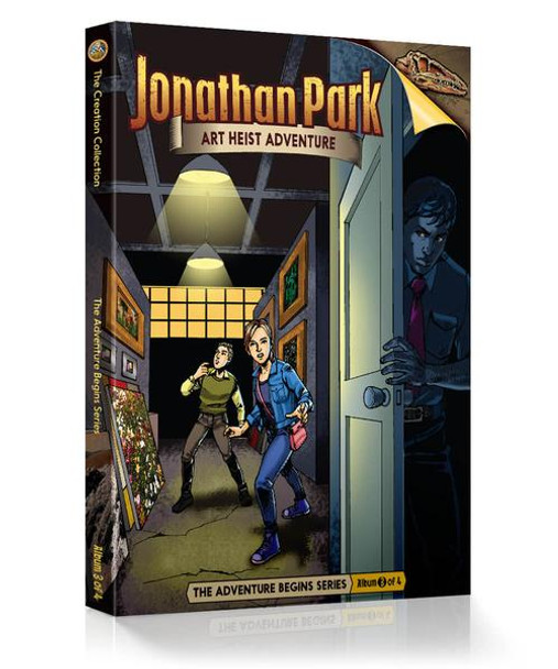 Jonathan Park Series 1 - The Adventure Begins #3: Art Heist Adventure - Audio Drama CD