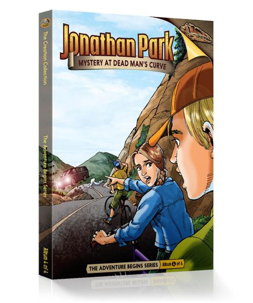 Jonathan Park Series 1 - The Adventure Begins #4: Mystery at Dead Man's Curve - Audio Drama CD