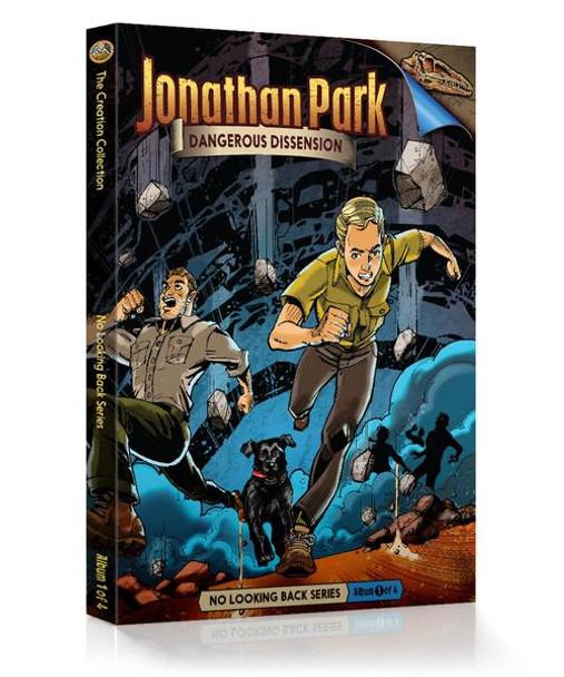 Jonathan Park Series 2 - No Looking Back #1: Dangerous Dissension - Audio Drama CD