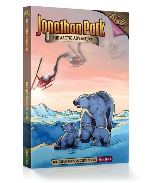 Jonathan Park Series 5 - The Explorer's Society #3: The Arctic Adventure - Audio Drama Cd