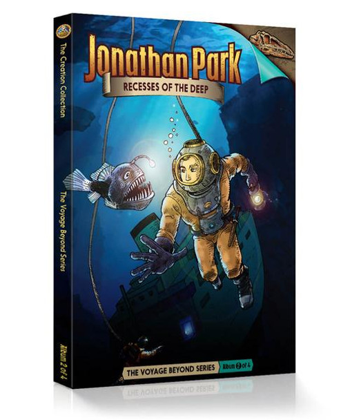 Jonathan Park Series 7 - The Voyage Beyond #2: Recesses of the Deep - Audio Drama CD