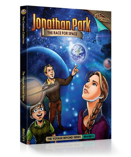 Jonathan Park Series 7 - The Voyage Beyond #3: The Race for Space - Audio Drama CD