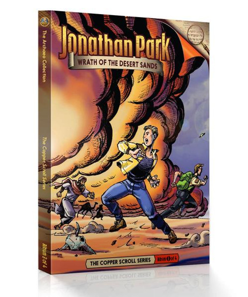 Jonathan Park Series 8 - The Copper Scroll #3: Wrath of the Desert Sands - Audio Drama CD