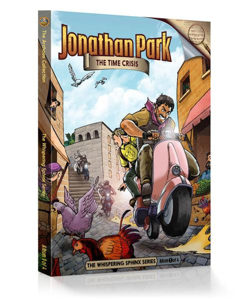 Jonathan Park Series 9 - The Whispering Sphinx #1: The Time Crisis - Audio Drama CD
