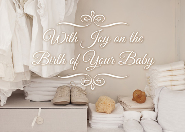 KJV Boxed Cards - Baby, Precious Blessings