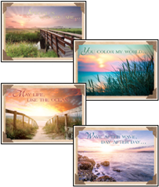 KJV Boxed Cards - Thinking of You, Wish You Were Here