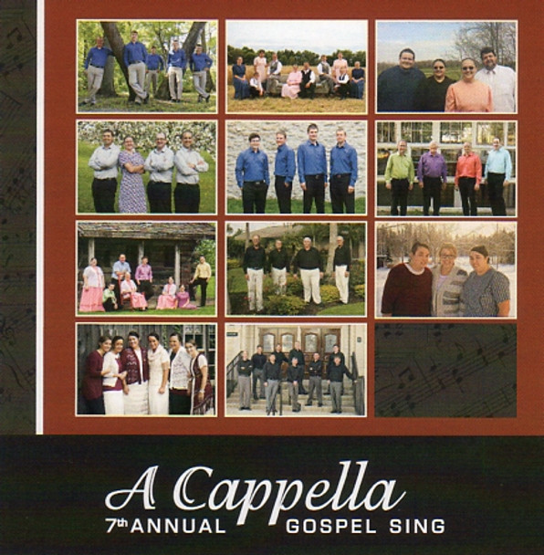 A Cappella 7th Annual Gospel Sing CD