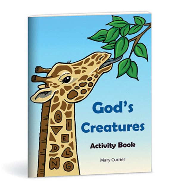 Mini God's Creatures Activity Book
