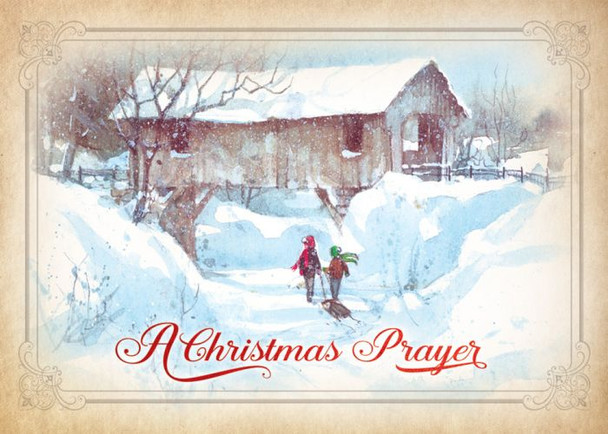 KJV Boxed Cards - Christmas, Assortment - Country Christmas