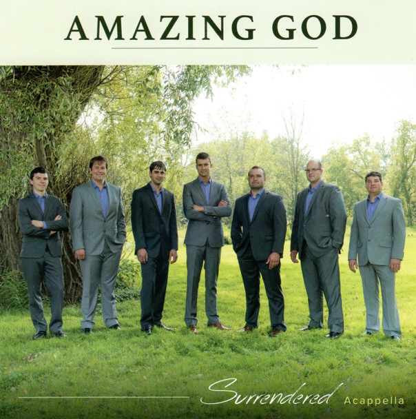 Amazing God CD by Surrendered