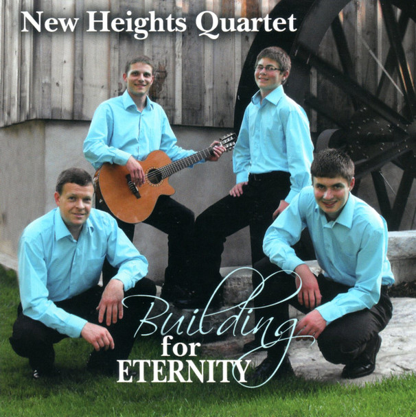 Building For Eternity CD by New Heights Quartet