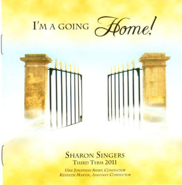 I'm A Going Home CD by Sharon Singers