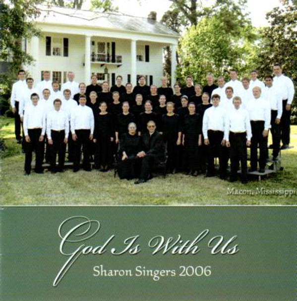 God Is With Us CD by Sharon Singers