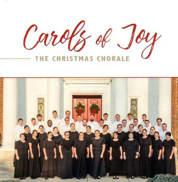 Carols Of Joy CD by The Christmas Chorale