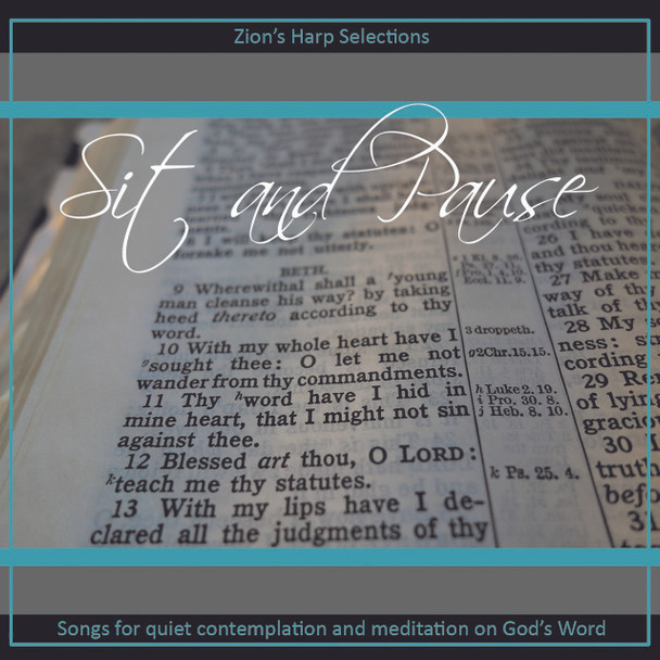 Sit and Pause CD by Piano Praise