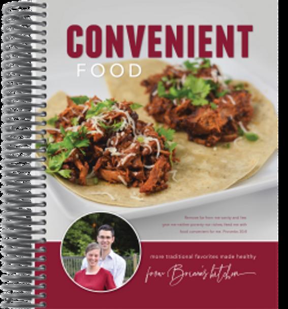Convenient Food Cookbook - by Briana Thomas
