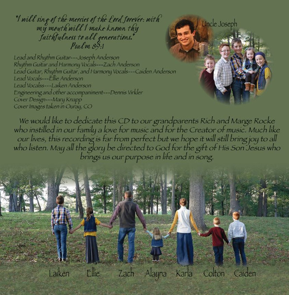 Sing To Me Of Heaven by The Anderson Family