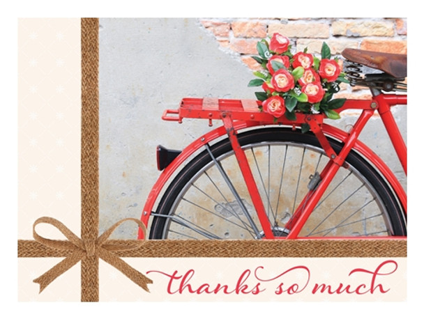 KJV Boxed Cards -Thank You, Bikes and Blooms by Heartwarming Thoughts