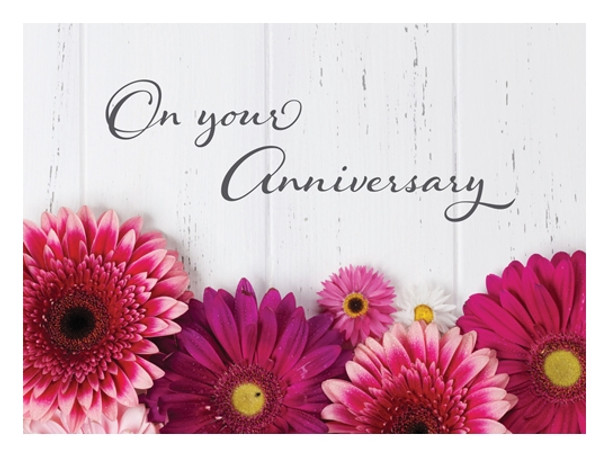 KJV Boxed Cards - Anniversary, Fresh Floral by Heartwarming Thoughts