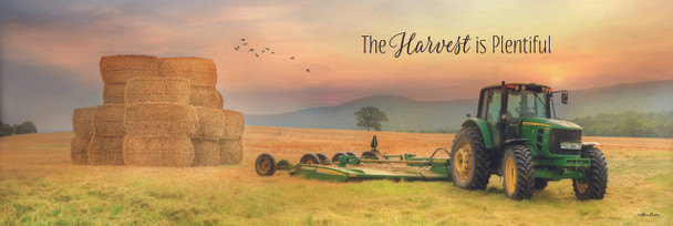 The Harvest is Plentiful - Wall Plaque by Heartwood Hollow
