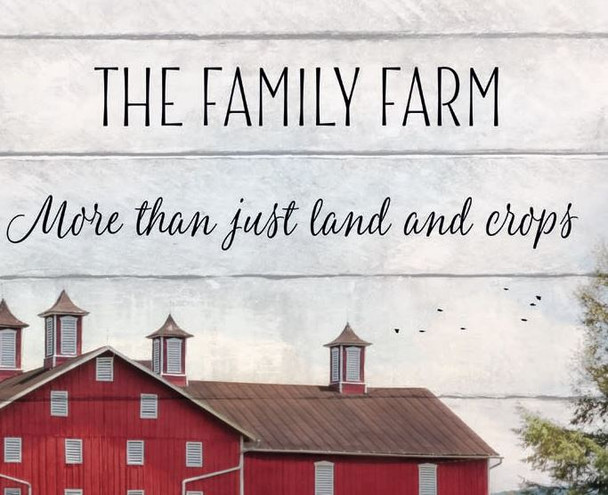 The Family Farm - Wall Plaque by Heartwood Hollow