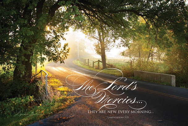The Lord's Mercies - Wall Plaque by Heartwood Hollow