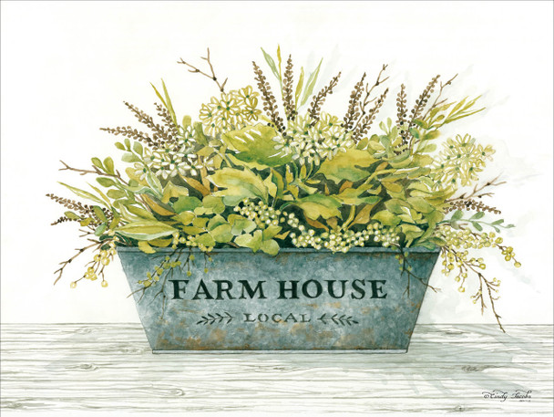 Farmhouse - Wall Plaque by Heartwood Hollow