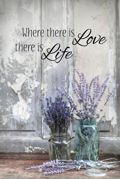 Where There Is Love - Wall Plaque by Heartwood Hollow