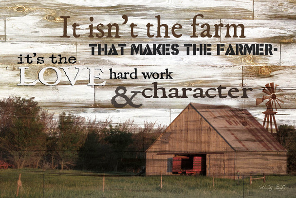It Isn't the Farm - Wall Plaque by Heartwood Hollow