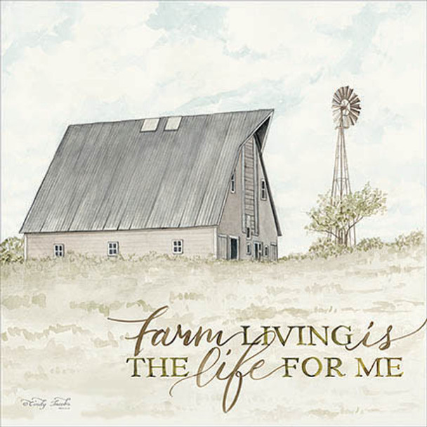 Farm Living - Wall Plaque by Heartwood Hollow