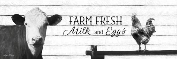 Farm Fresh Milk & Eggs - Wall Plaque by Heartwood Hollow