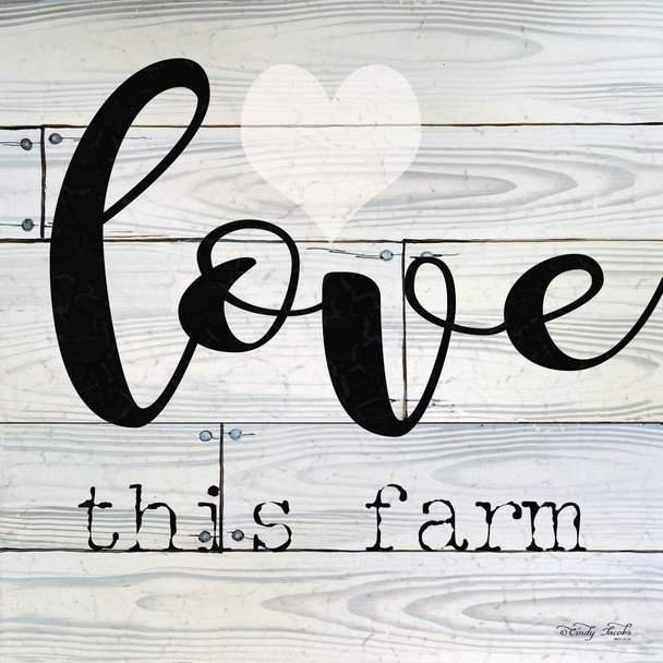 Love This Farm - Wall Plaque by Heartwood Hollow