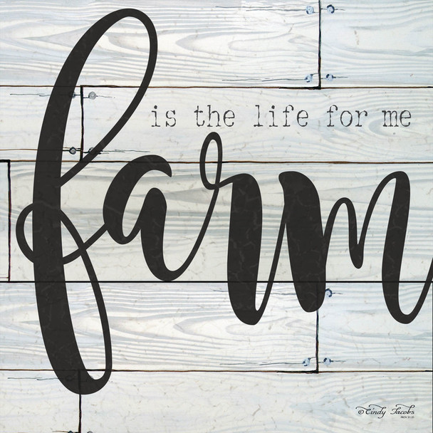 Farm is the Life for Me - Wall Plaque by Heartwood Hollow