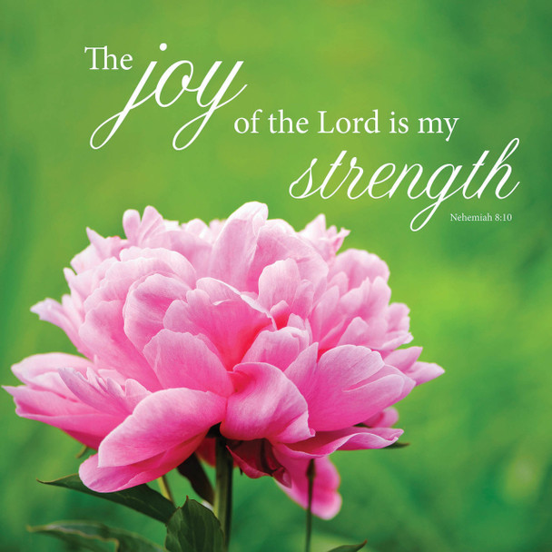 Joy & Strength - Wall Plaque by Heartwood Hollow
