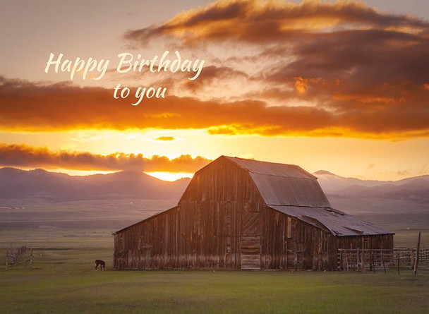 KJV Boxed Cards - Birthday, Home On The Range by Heartwarming Thought
