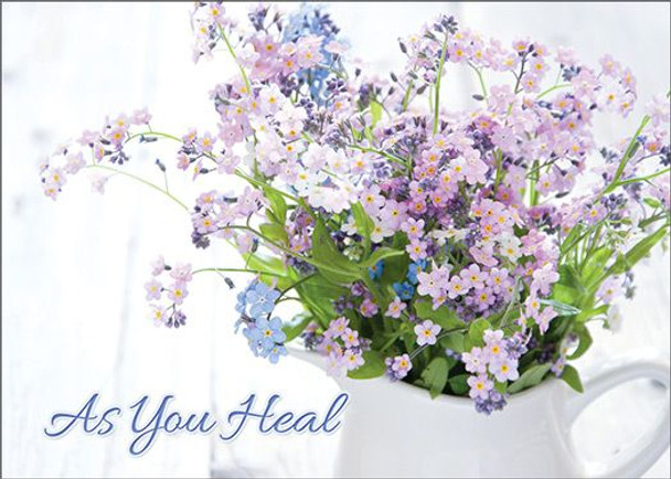 KJV Boxed Cards - Get Well, Comfort in God's Care