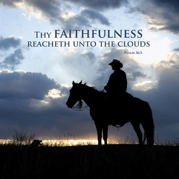 Faithfulness - Wall Plaque by Heartwood Hollow