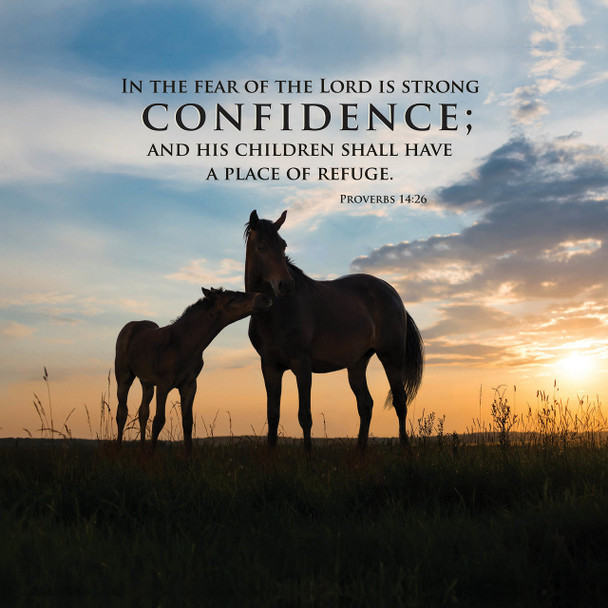 Confidence - Wall Plaque by Heartwood Hollow