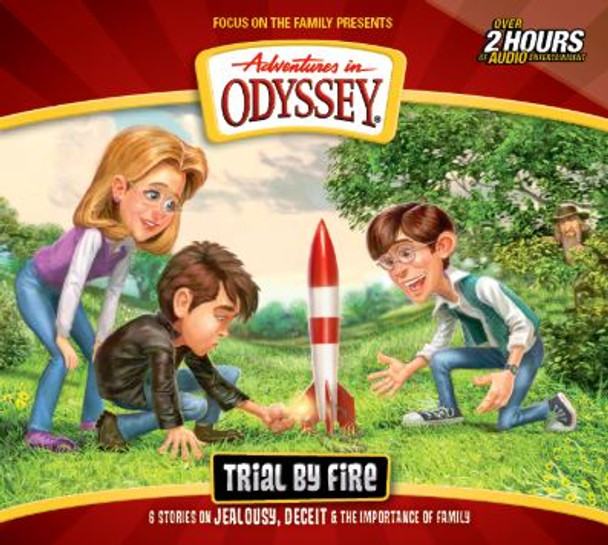 Trial by Fire - #66 CD Set by Adventures in Odyssey