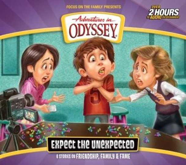 Expect the Unexpected - #65 CD Set by Adventures in Odyssey