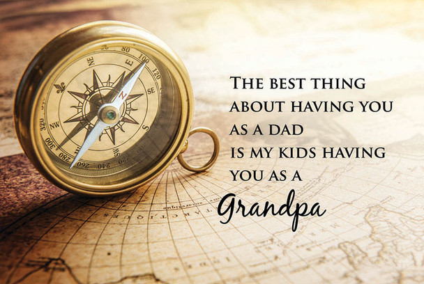 Best Thing Grandpa - Wall Plaque by Heartwood Hollow