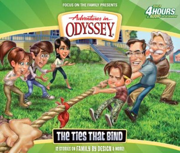 The Ties That Bind - #58 CD Set by Adventures in Odyssey