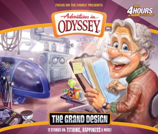 The Grand Design - #56 CD Set by Adventures in Odyssey