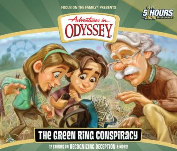 Green Ring Conspiracy - #53 CD Set by Adventures in Odyssey
