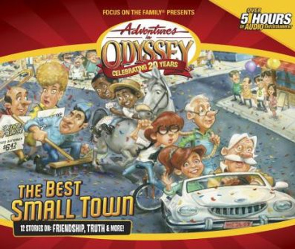 The Best Small Town - #50 CD Set by Adventures in Odyssey
