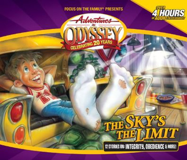 The Sky's the Limit - #49 CD Set by Adventures in Odyssey