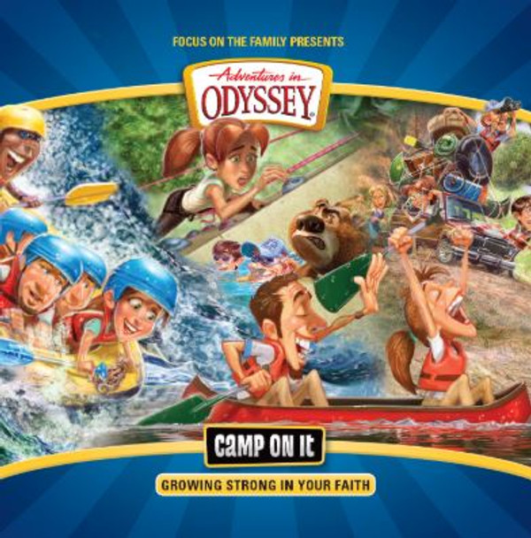 Camp On It -  CD Set by Adventures in Odyssey