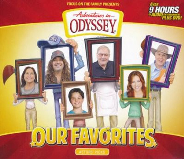 Our Favorites: Actors' Picks -  CD Set by Adventures in Odyssey