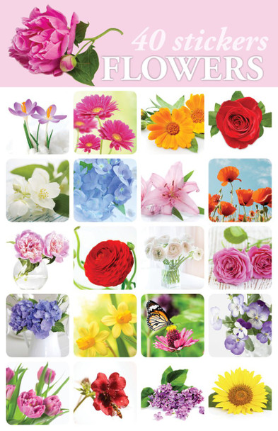 Flowers Stickers - 2 sheets